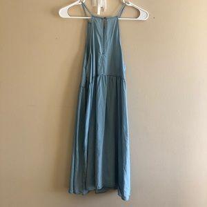 Mossimo Supply Co. Dresses - Mossimo Chambray Denim Swing Dress